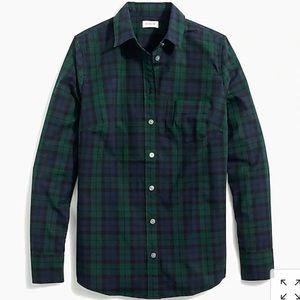 J Crew Oxford Mens Slim Flit Plaid Button Up Shirt